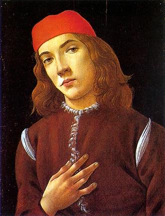 25.Retrato de un joven, hacia 1480-1490