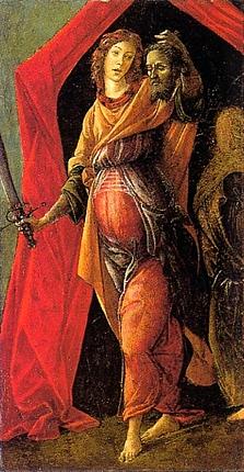 34.Judit con la cabeza de Holofernes, hacia 1495-1500