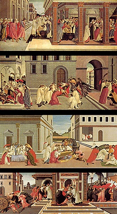 39.Escenas de la vida de San Cenobio, hacia 1500-1505