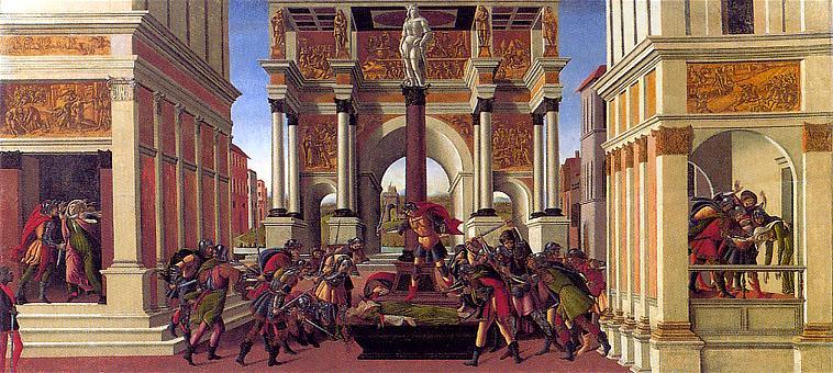 40.Historia de Lucrecia, hacia 1504