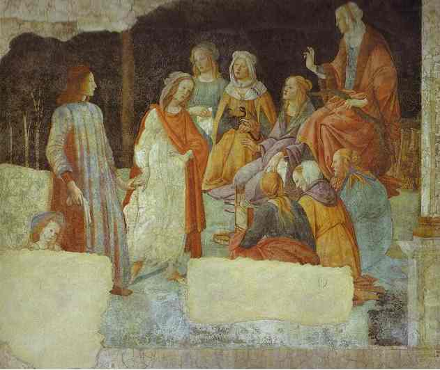 Alessandro Botticelli - A Young Man being introduced to the Seven Liberal Arts
