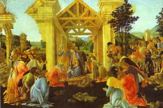 Alessandro Botticelli - Adoration of the Magi