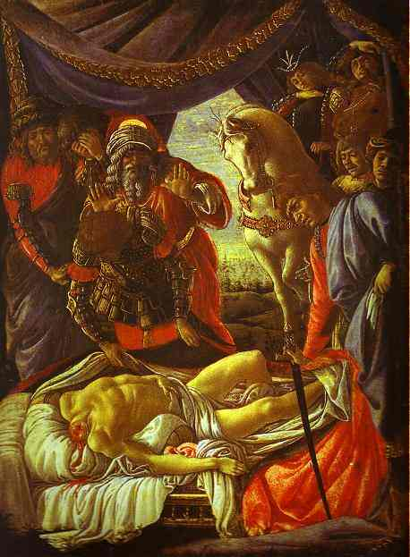Alessandro Botticelli - Discovery of the Body of Holofernes