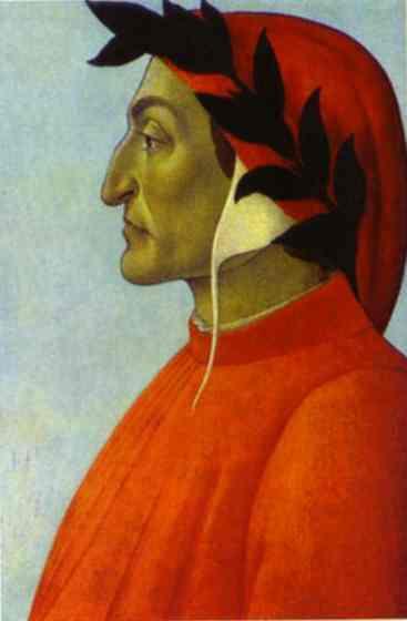 Alessandro Botticelli - Portrait of Dante
