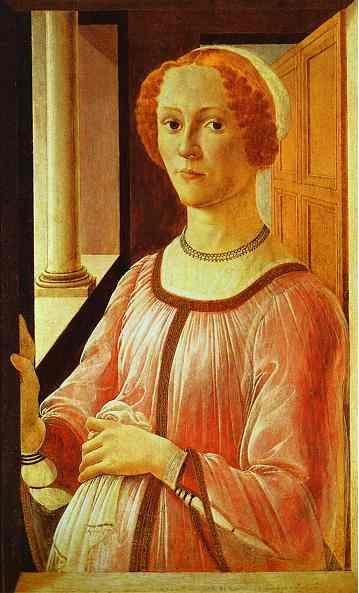 Alessandro Botticelli - Portrait of a Lad