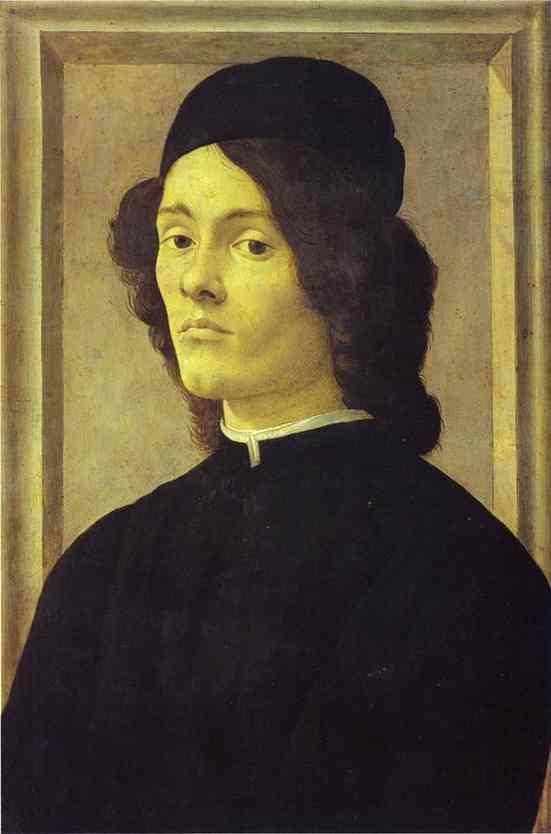 Alessandro Botticelli - Portrait of a Man