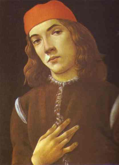 Alessandro Botticelli - Portrait of a Youth