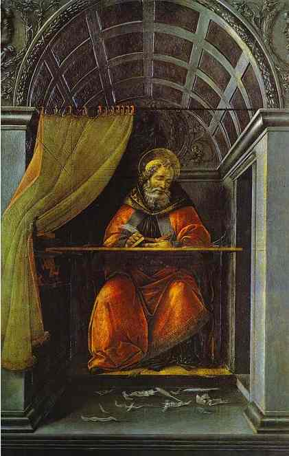 Alessandro Botticelli - St Augustine In The Cell