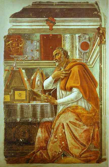 Alessandro Botticelli - St. Augustine