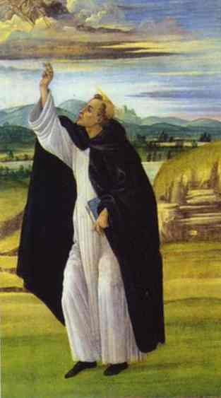 Alessandro Botticelli - St. Dominic