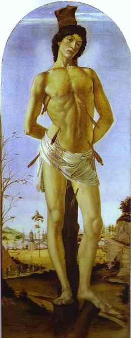 Alessandro Botticelli - St. Sebastian