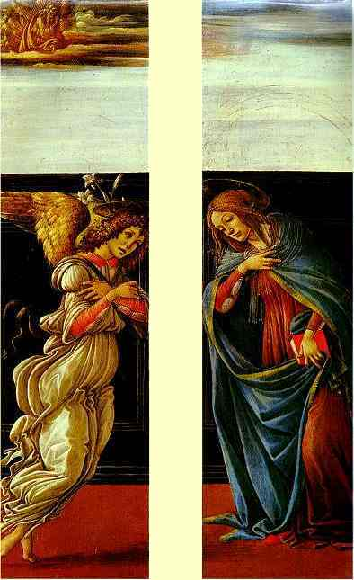 Alessandro Botticelli - The Annunciation