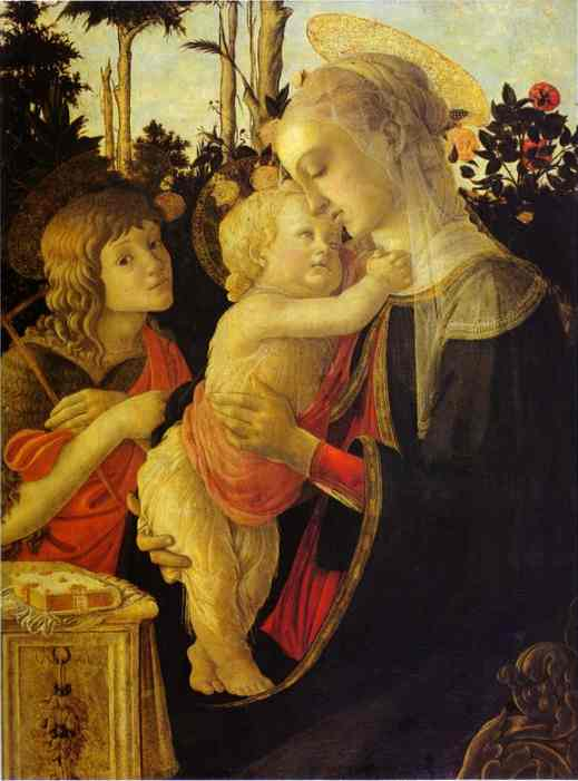 Alessandro Botticelli - The Virgin and Child with John the Baptist