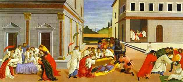 Alessandro Botticelli - Three Miracles of St. Zenobius