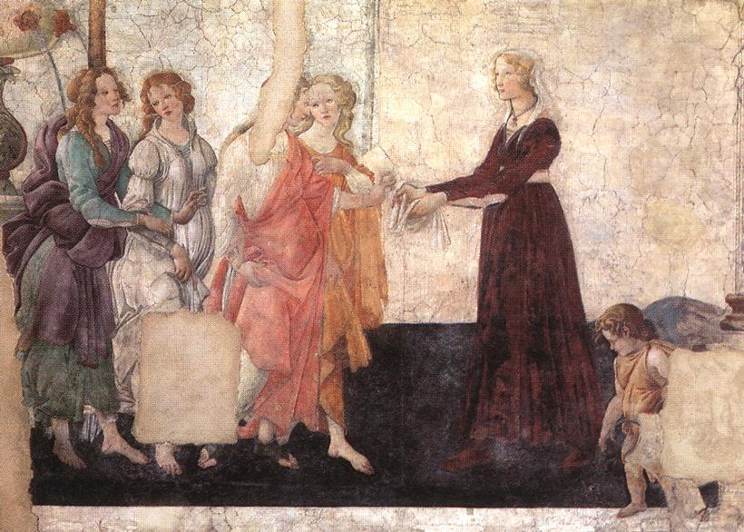 Allegoric Painting (from Villa Lemmi) 1