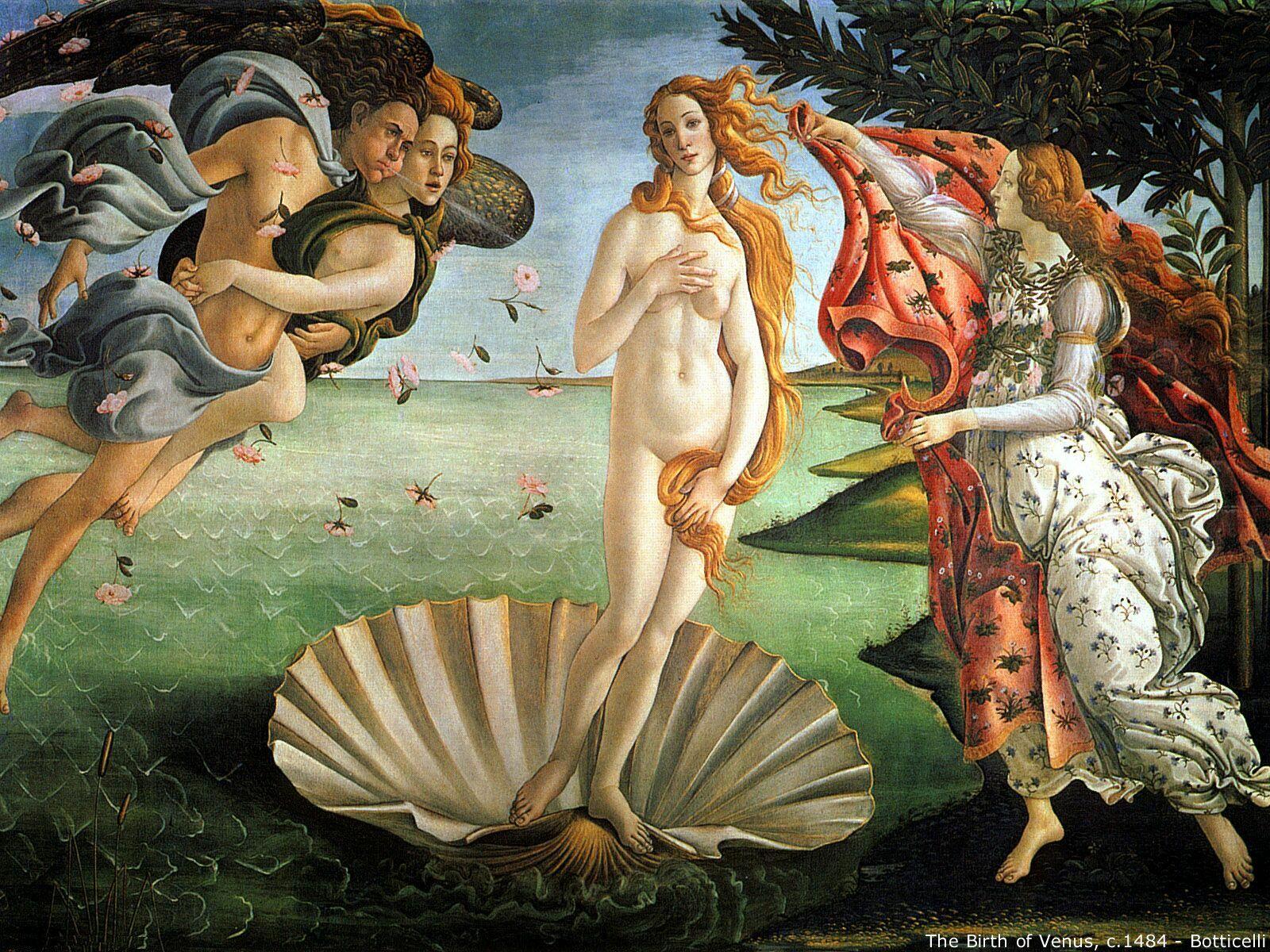 Art - Botticelli - The Birth of Venus c1484