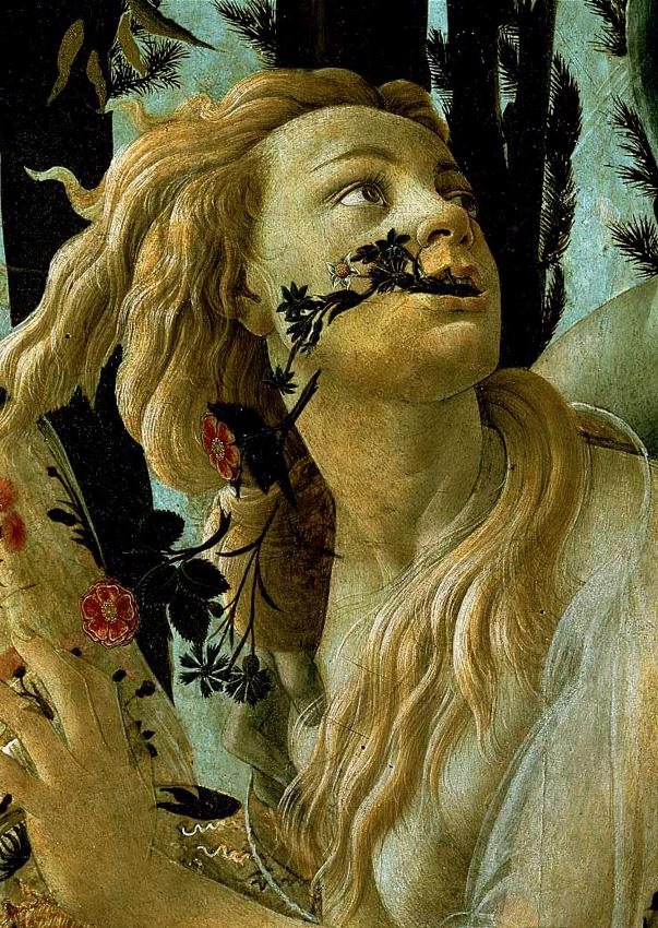 La Primavera, Allegory of Spring (detail) 1