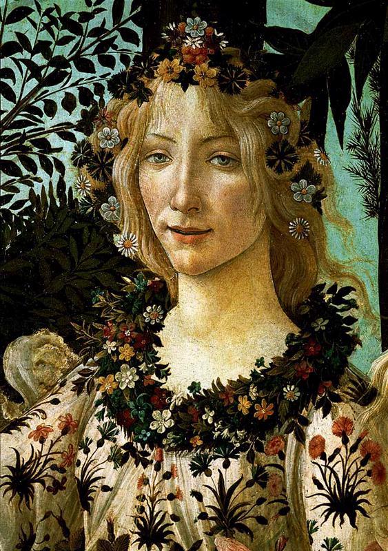 La Primavera, Allegory of Spring (detail) 2