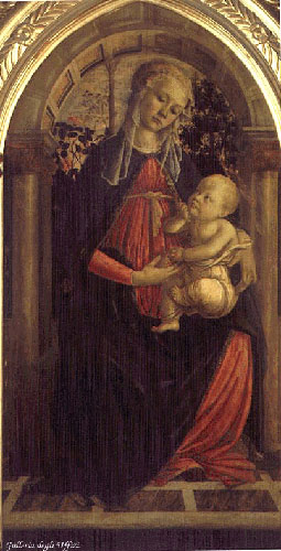 Madonna of the Rosengarden