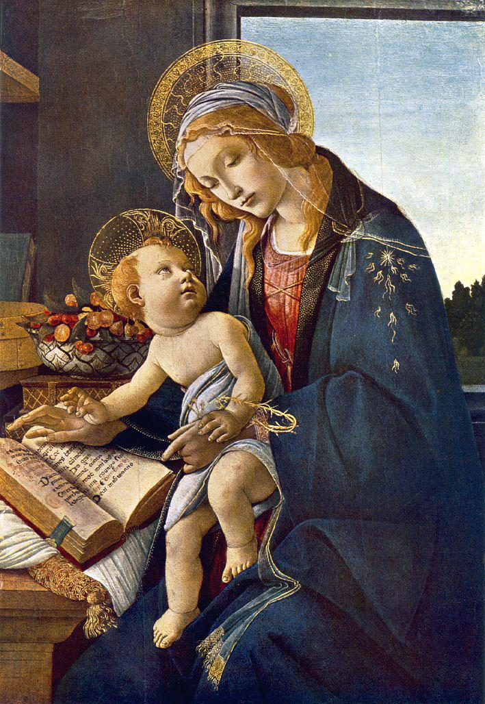 Madonna with the Child (Madonna with the Book)