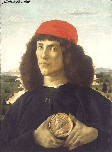 Portrait of an Unknown Personage with the Medal of Cosimo il