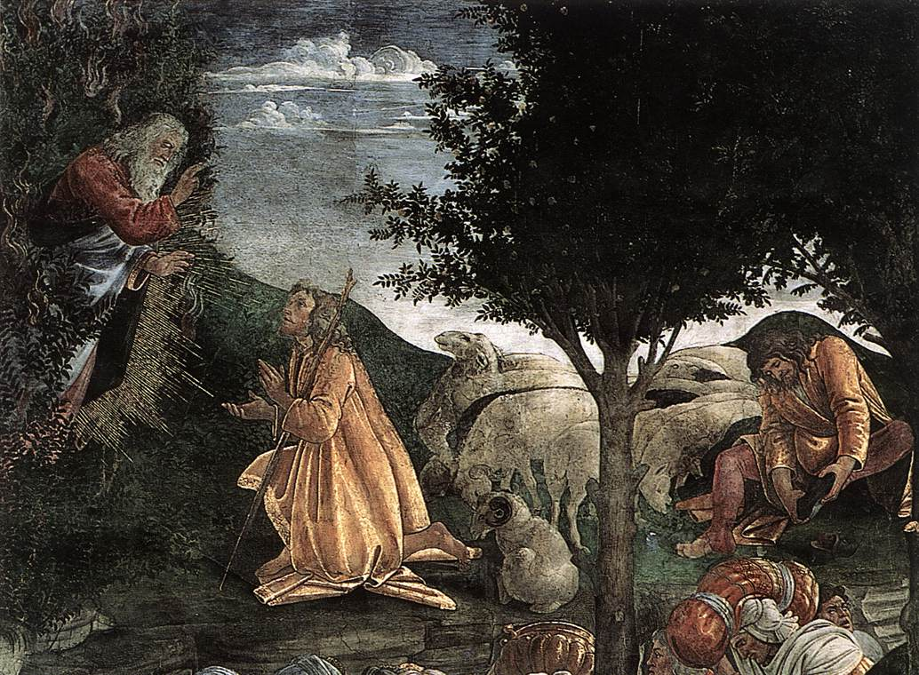Scenes from the Life of Moses (detail) 2