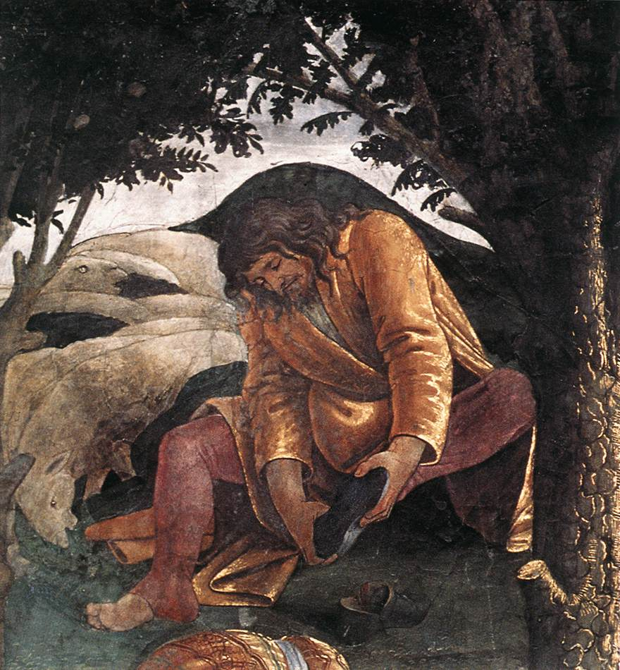 Scenes from the Life of Moses (detail) 3