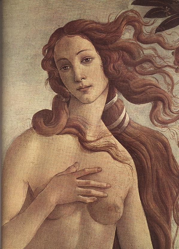 The Birth of Venus (detail) 1