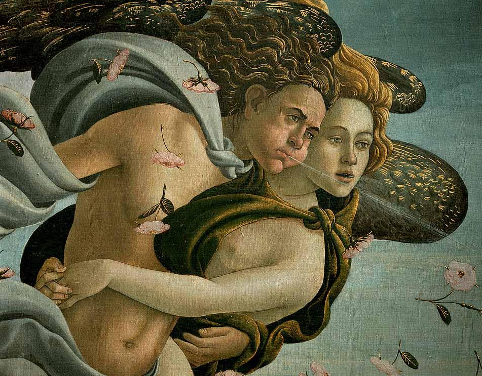 The Birth of Venus (detail) 2