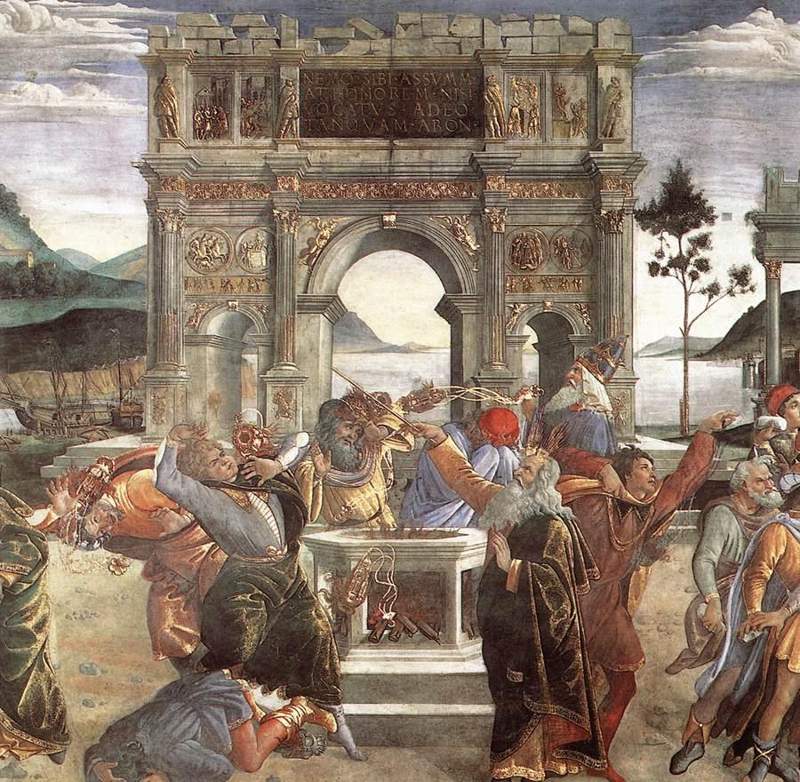 The Punishment of Korah (detail) 1