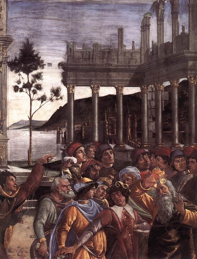 The Punishment of Korah (detail) 4
