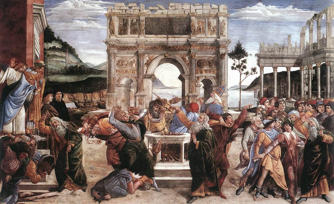 The Punishment of Korah