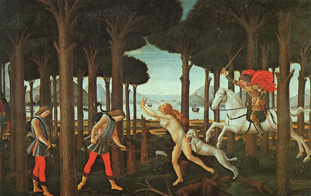 The Story of Nastagio degli Onesti 1