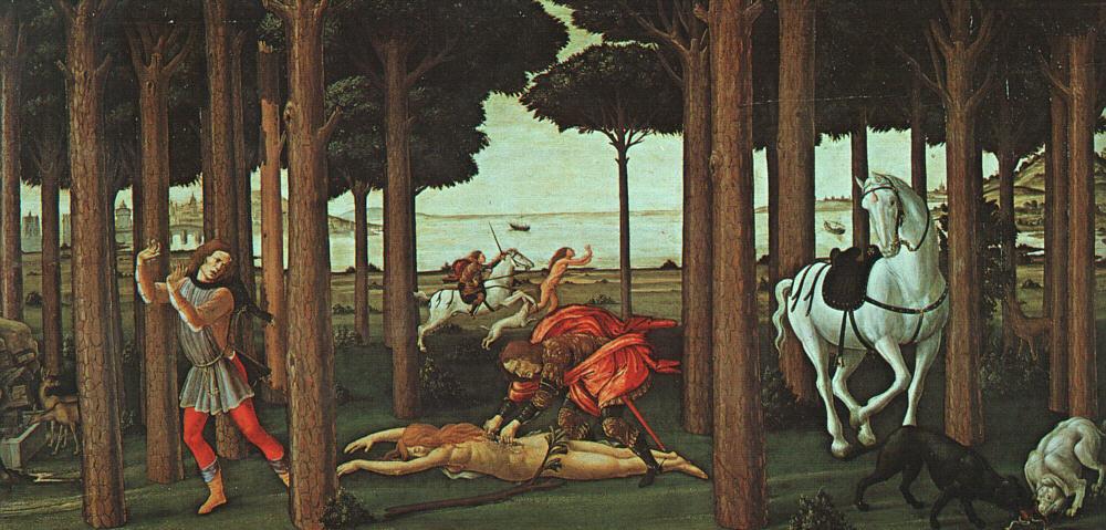 The Story of Nastagio degli Onesti 2