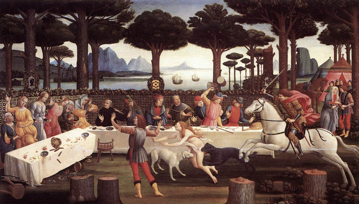 The Story of Nastagio degli Onesti 3
