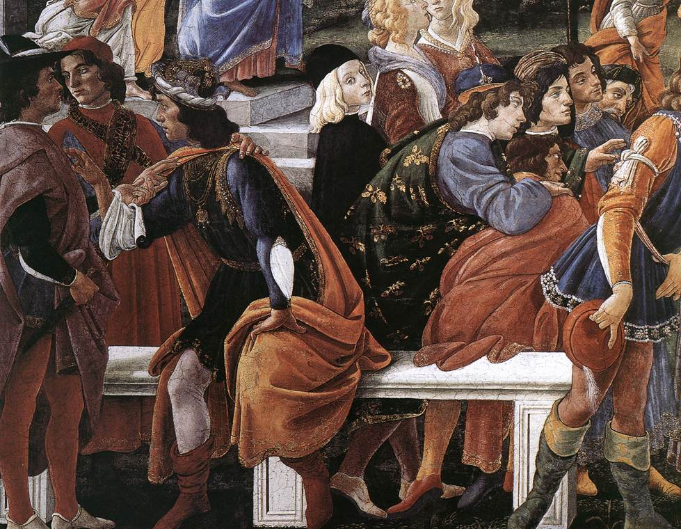The Temptation of Christ (detail) 2
