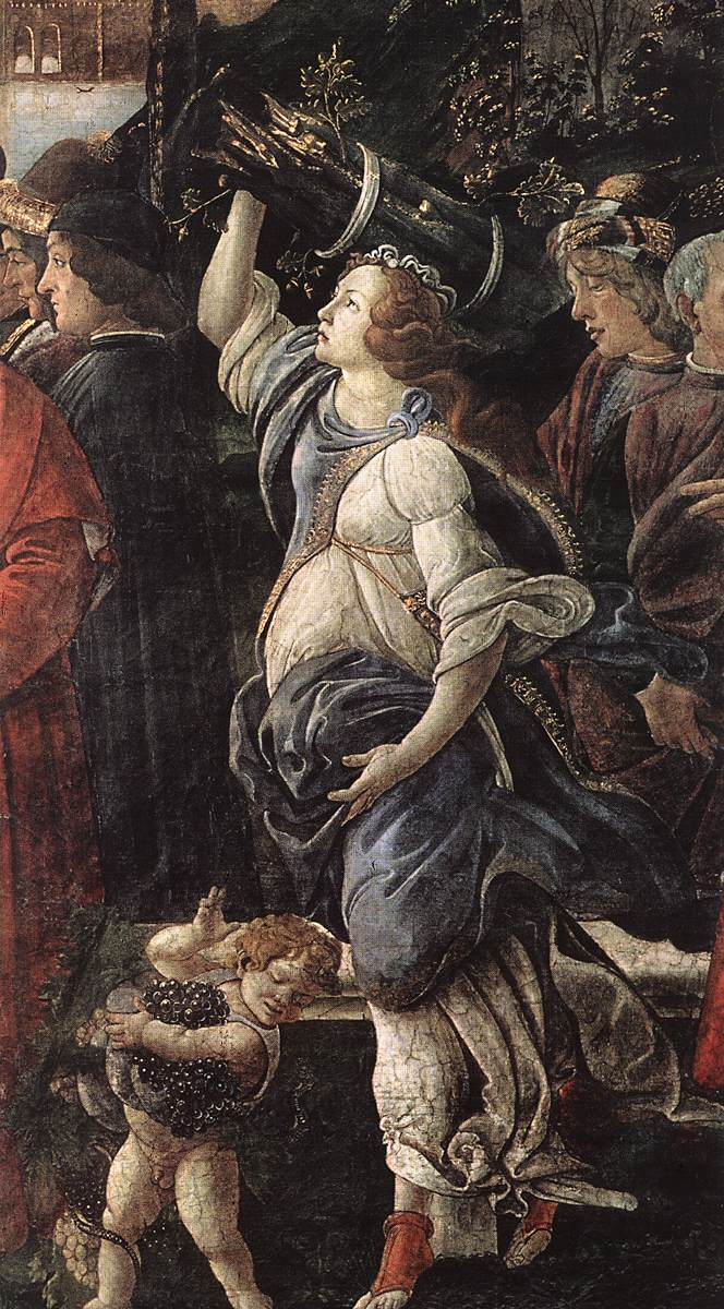 The Temptation of Christ (detail) 4