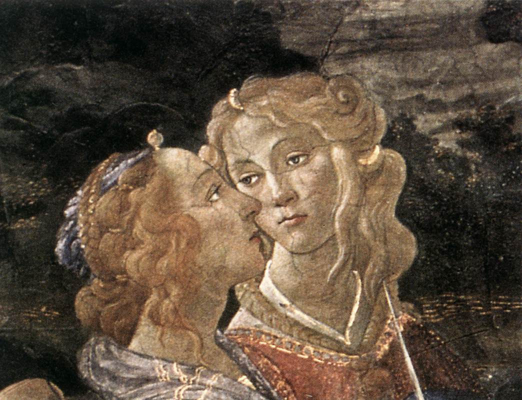 The Temptation of Christ (detail) 7