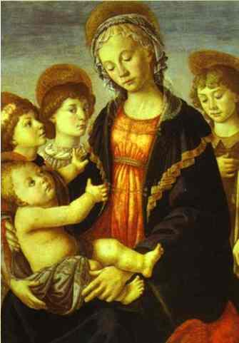botticelli-Madonna and Child