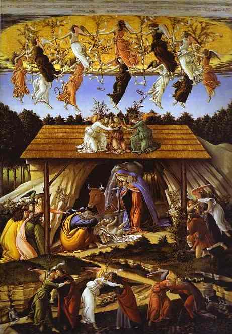 botticelli-Mystic Nativity. 1500