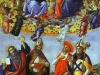 Alessandro Botticelli - Coronation of the Virgin with the Saints John the Evangelist, Augustine,