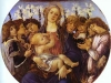 Alessandro Botticelli - Madonna and Child with Eight Angel