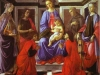 Alessandro Botticelli - Madonna and Child with Six Saints