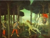 Alessandro Botticelli - The Encounter with the Damned in the Pine Forest