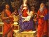 Alessandro Botticelli - Virgin and Child Enthroned between Saint John the Baptist and Saint John