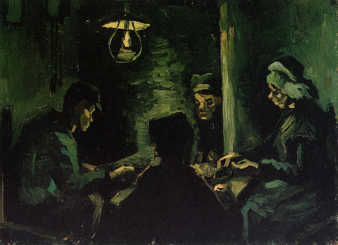 'The Potato Eaters' Study