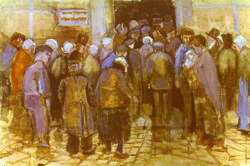 1882 Le bureau de la loterie