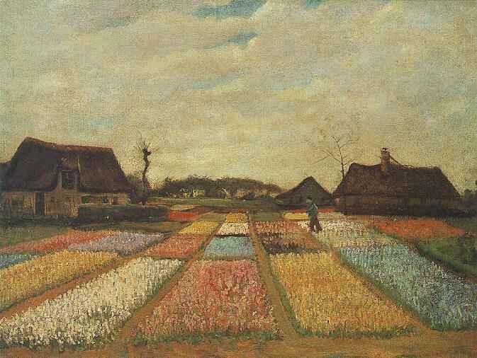 1883 Champs de bulbes