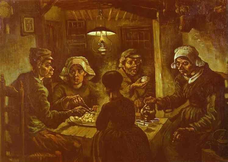1885 Les mangeurs de patates