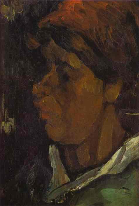 1885 Portrait d'un fermier allemand